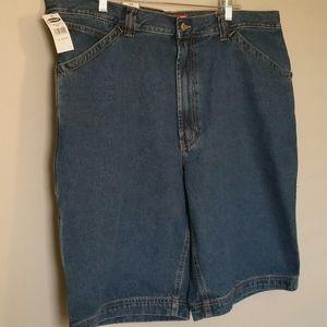 NWT Men's Old Navy Denim Cargo Shorts sz 42